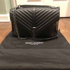 YSL large college purse